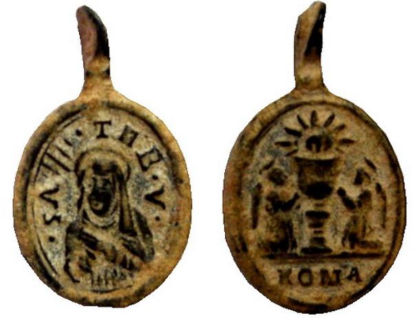 Recopilación medallas Orden Carmelitas Descalzas: Santa Teresa de Jesús 05_col10