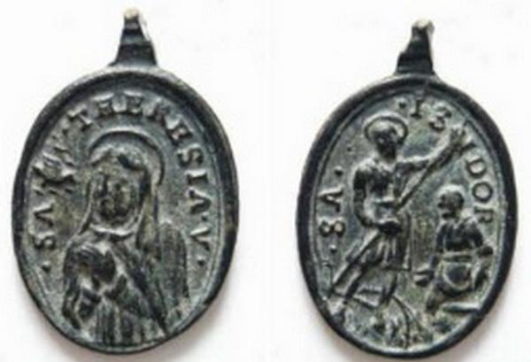 Recopilación medallas Orden Carmelitas Descalzas: Santa Teresa de Jesús 06_arc10