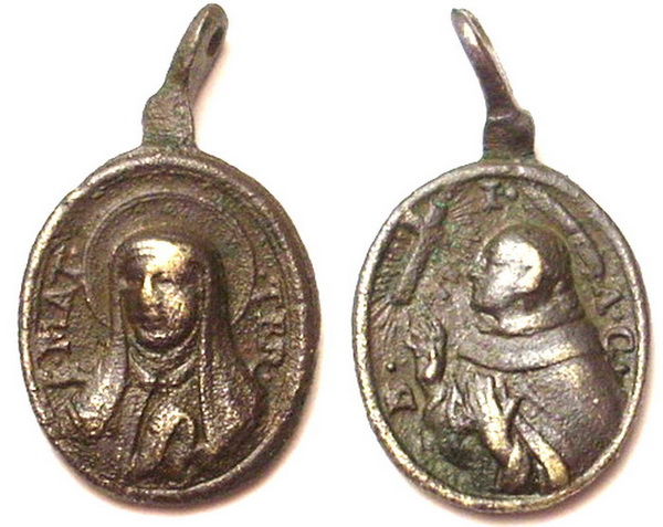 Recopilación medallas Orden Carmelitas Descalzas: Santa Teresa de Jesús 07_for10