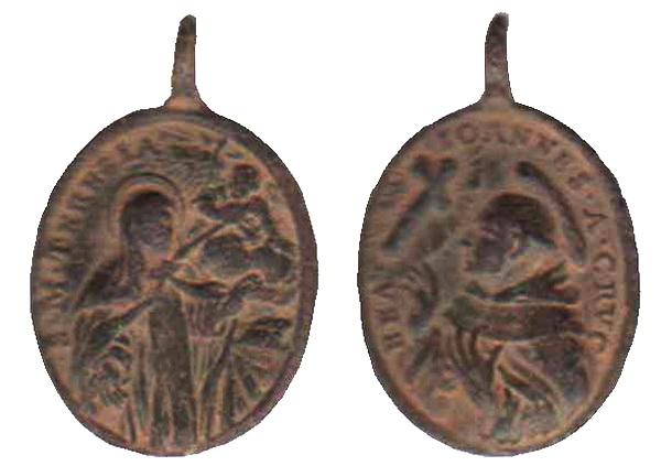 Recopilación medallas Orden Carmelitas Descalzas: Santa Teresa de Jesús 08_omn10