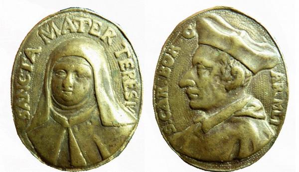 Recopilación medallas Orden Carmelitas Descalzas: Santa Teresa de Jesús 09_1_t10