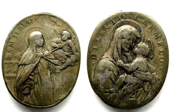 Recopilación medallas Orden Carmelitas Descalzas: Santa Teresa de Jesús 09_bnb10