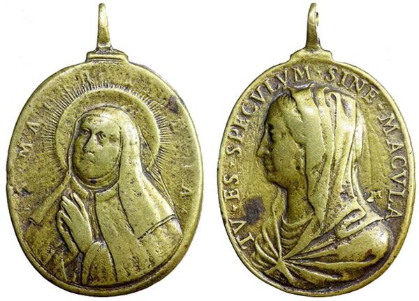 Recopilación medallas Orden Carmelitas Descalzas: Santa Teresa de Jesús 09_jul10
