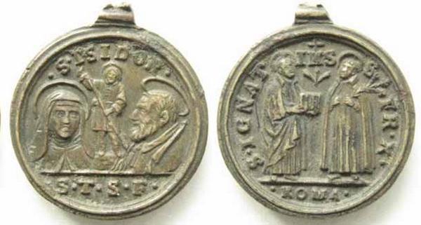 Recopilación medallas Orden Carmelitas Descalzas: Santa Teresa de Jesús 10_bel10