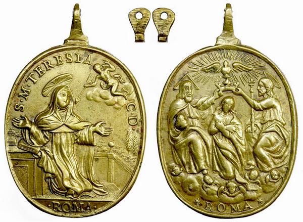 Recopilación medallas Orden Carmelitas Descalzas: Santa Teresa de Jesús 10_jul10
