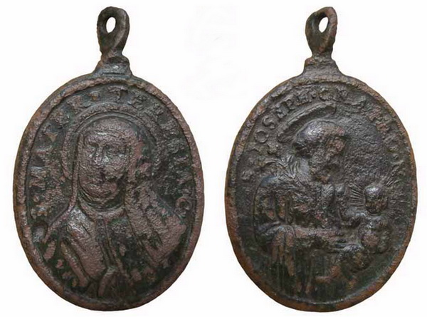 Recopilación medallas Orden Carmelitas Descalzas: Santa Teresa de Jesús 11_ins10
