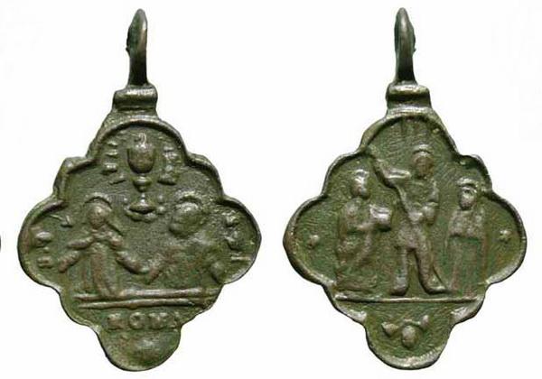 Recopilación medallas Orden Carmelitas Descalzas: Santa Teresa de Jesús 11_mr210