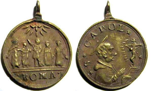 Recopilación medallas Orden Carmelitas Descalzas: Santa Teresa de Jesús 13_sta11