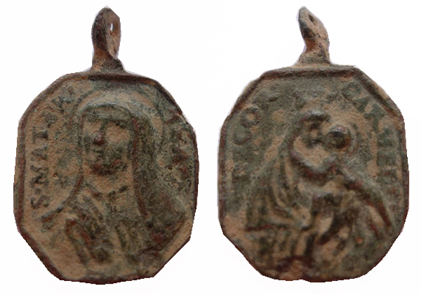 Recopilación medallas Orden Carmelitas Descalzas: Santa Teresa de Jesús 14_cur10