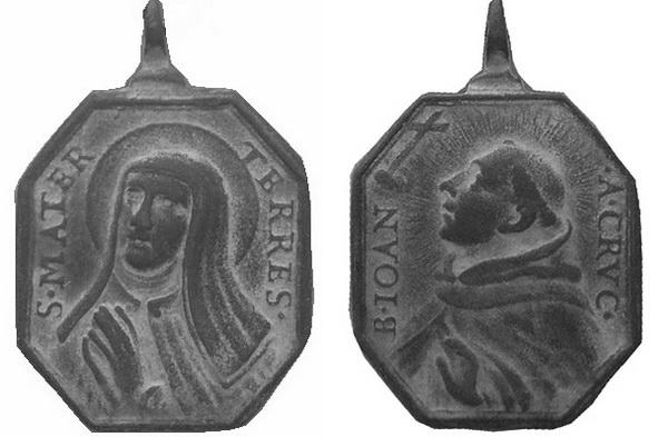 Recopilación medallas Orden Carmelitas Descalzas: Santa Teresa de Jesús 15_col10