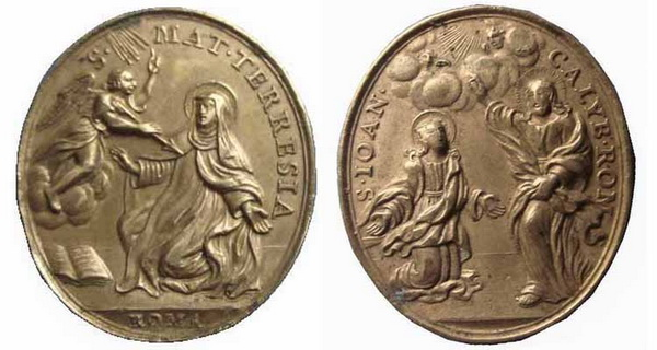 Recopilación medallas Orden Carmelitas Descalzas: Santa Teresa de Jesús 16_arc11