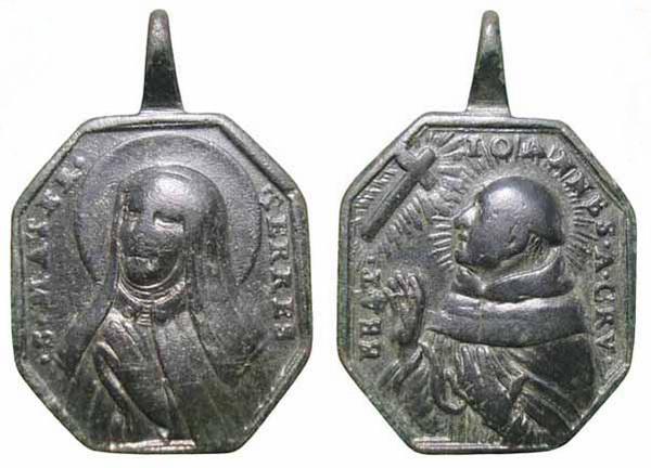 Recopilación medallas Orden Carmelitas Descalzas: Santa Teresa de Jesús 16_ins10