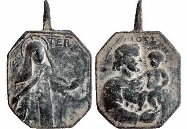Recopilación medallas Orden Carmelitas Descalzas: Santa Teresa de Jesús 17_edt11