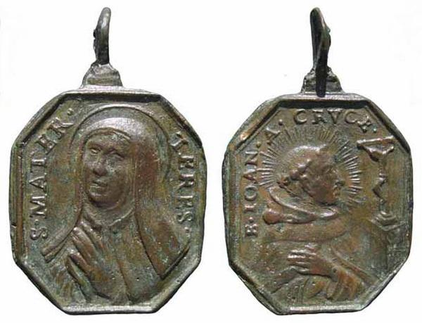 Recopilación medallas Orden Carmelitas Descalzas: Santa Teresa de Jesús 17_ins10