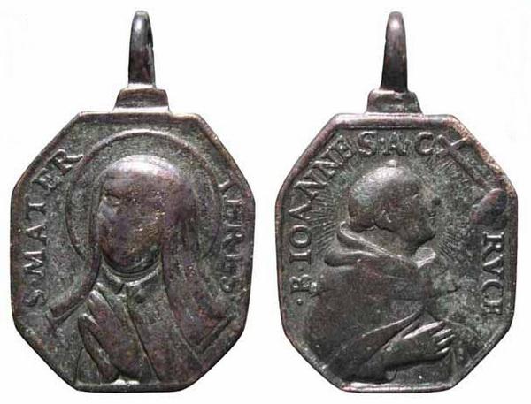 Recopilación medallas Orden Carmelitas Descalzas: Santa Teresa de Jesús 18_ins10
