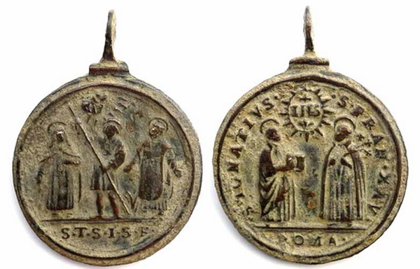 Recopilación medallas Orden Carmelitas Descalzas: Santa Teresa de Jesús 1_tesa11