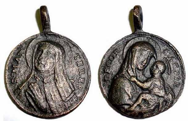 Recopilación medallas Orden Carmelitas Descalzas: Santa Teresa de Jesús 20_ita10