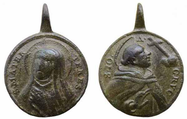 Recopilación medallas Orden Carmelitas Descalzas: Santa Teresa de Jesús 21_ins10
