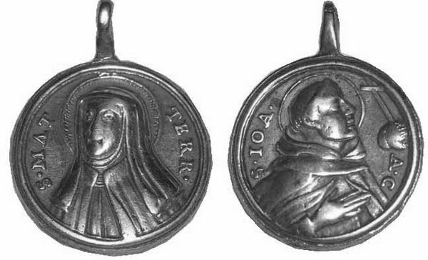 Recopilación medallas Orden Carmelitas Descalzas: Santa Teresa de Jesús 22_arc10