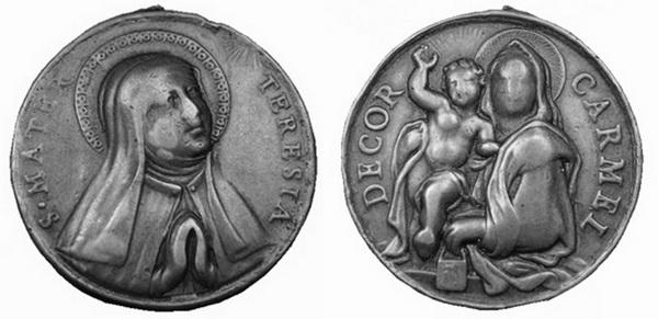 Recopilación medallas Orden Carmelitas Descalzas: Santa Teresa de Jesús 24_col10