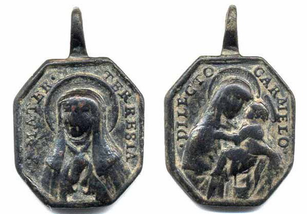 Recopilación medallas Orden Carmelitas Descalzas: Santa Teresa de Jesús 27_pon10
