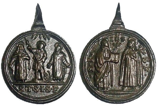 Recopilación medallas Orden Carmelitas Descalzas: Santa Teresa de Jesús 3_ital10