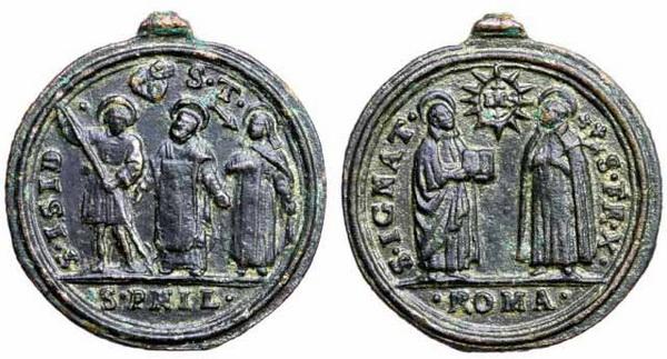 Recopilación medallas Orden Carmelitas Descalzas: Santa Teresa de Jesús 6_juli10