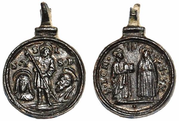 Recopilación medallas Orden Carmelitas Descalzas: Santa Teresa de Jesús 8_trai10
