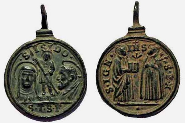 Recopilación medallas Orden Carmelitas Descalzas: Santa Teresa de Jesús 9_conu10
