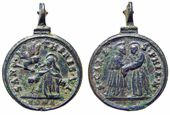 Recopilación medallas Orden Carmelitas Descalzas: Santa Teresa de Jesús Archiv10