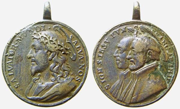 Recopilación medallas con el Rostro de Cristo ( Salvator Mvndi II) C026dj10