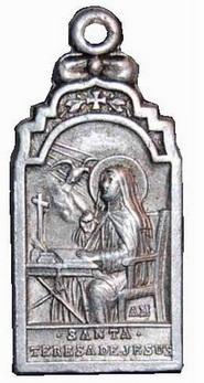 Recopilación medallas Orden Carmelitas Descalzas: Santa Teresa de Jesús Centau14