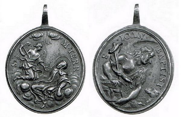Recopilación medallas Orden Carmelitas Descalzas: Santa Teresa de Jesús Col_ma10