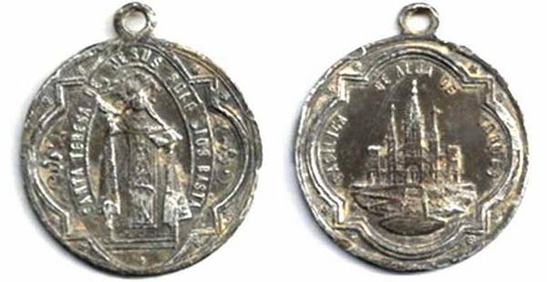 Recopilación medallas Orden Carmelitas Descalzas: Santa Teresa de Jesús Conuba10