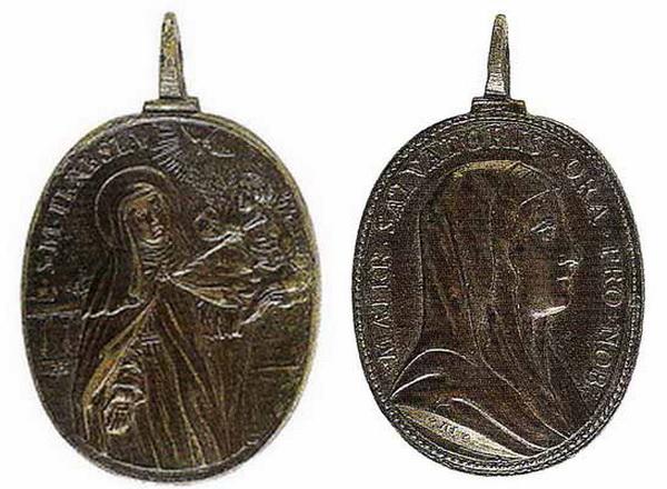 Recopilación medallas Orden Carmelitas Descalzas: Santa Teresa de Jesús De_rui11