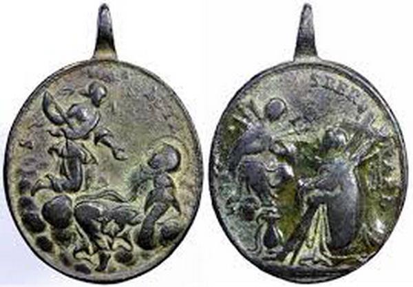 Recopilación medallas Orden Carmelitas Descalzas: Santa Teresa de Jesús Del_mo10