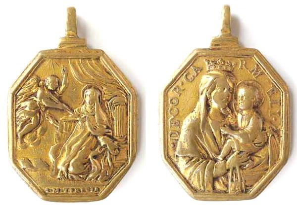 Recopilación medallas Orden Carmelitas Descalzas: Santa Teresa de Jesús Dscn9911