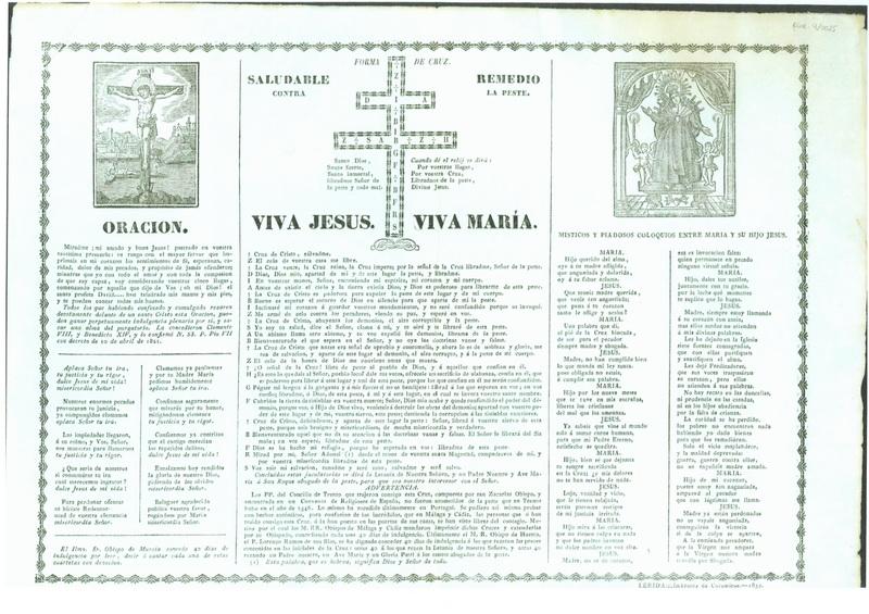 S. Benito de Nursia / Cruz de S. Benito. ( R.M. SXVII-O348) Goig_s10