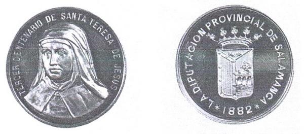 Recopilación medallas Orden Carmelitas Descalzas: Santa Teresa de Jesús Iii_ce10