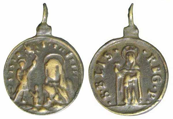 Recopilación medallas Orden Carmelitas Descalzas: Santa Teresa de Jesús Insvla10