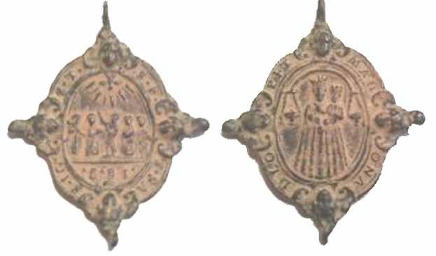 Recopilación medallas Orden Carmelitas Descalzas: Santa Teresa de Jesús Loreto10