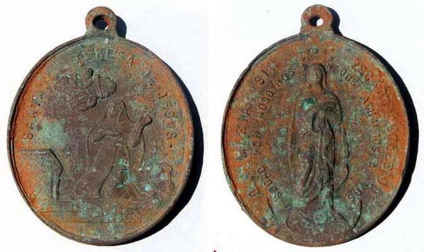 Recopilación medallas Orden Carmelitas Descalzas: Santa Teresa de Jesús Raul8211