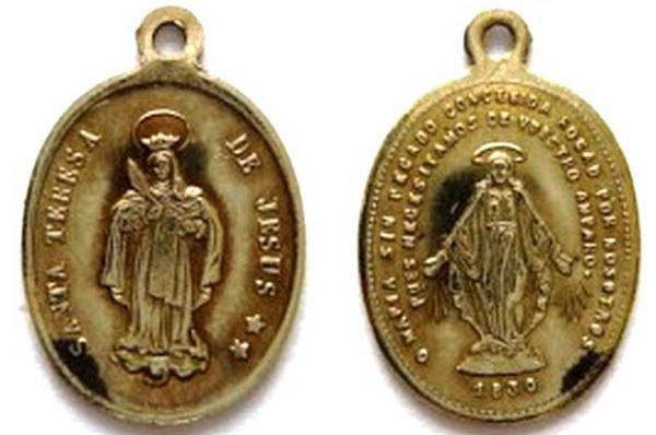 Recopilación medallas Orden Carmelitas Descalzas: Santa Teresa de Jesús Rgude_10