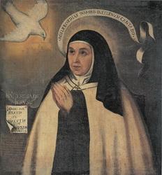 Recopilación medallas Orden Carmelitas Descalzas: Santa Teresa de Jesús Sta_te11