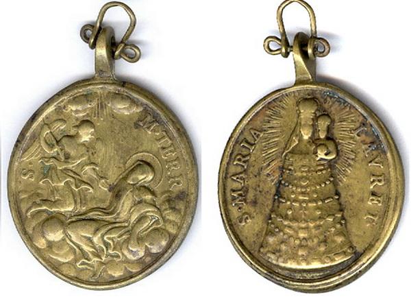 Recopilación medallas Orden Carmelitas Descalzas: Santa Teresa de Jesús Tesaym10