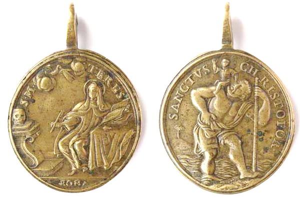 Recopilación medallas Orden Carmelitas Descalzas: Santa Teresa de Jesús Tesaym11