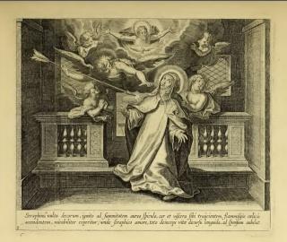 Recopilación medallas Orden Carmelitas Descalzas: Santa Teresa de Jesús Transv10