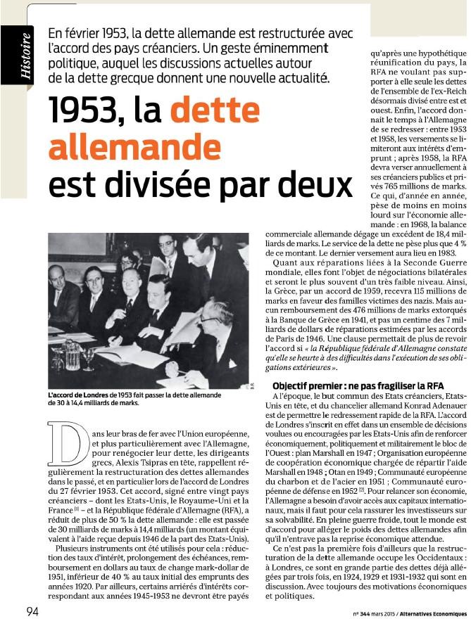 1953, la dette allemande est divisée par 2 (Alternatives Économiques) 1953_l10