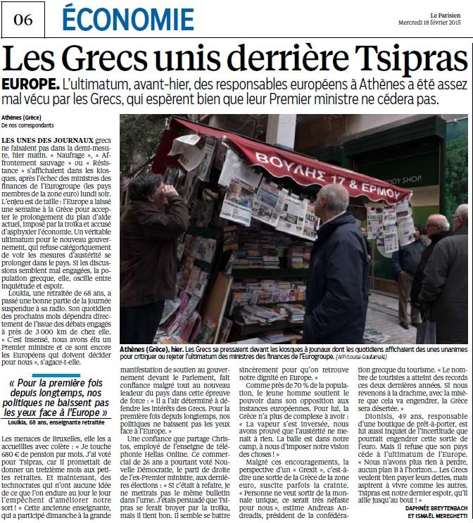 Syriza, un espoir de type grec (Les Inrockuptibles) + Les Grecs unis derrière Tsipras (Le Parisien) Les_gr10