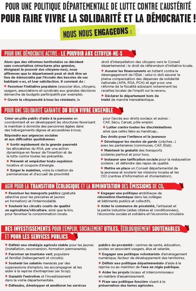 Élections départementales 2015 Montbard : Benoît Gouot et Danielle Gutierrez sont candidats + Profession de foi + Tract + Venarey-lès-Laumes : Un dialogue avec les citoyens (Bien Public) Verso_10